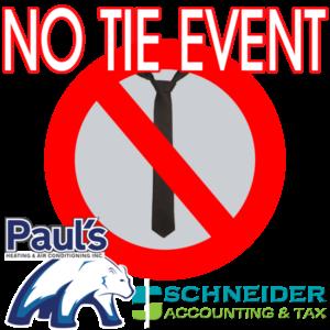 No Tie Event